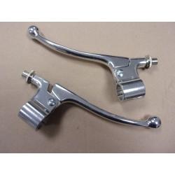 levier d'embrayage et de frein complet amal (bultaco montesa ossa)