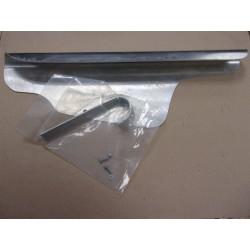 carter de chaine  aluminium cote gauche avec fixation