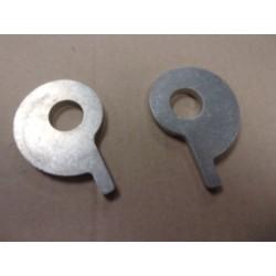 bultaco jeu de tendeur de chaine aluminium