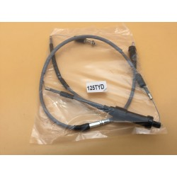 YAMAHA cable gaz complet 125/175 ty