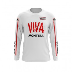 MONTESA maillot 100% coton manches longue