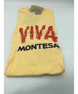 MONTESA  tee shirt jaune