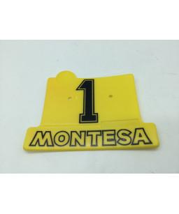 MONTESA plaque numero cota...